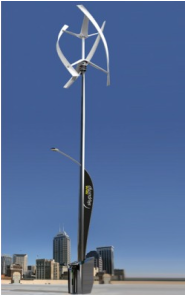 Self-powering Light Poles